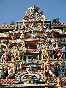 Gopuram (Tower) of Chidambaram Temple, TamilNadu